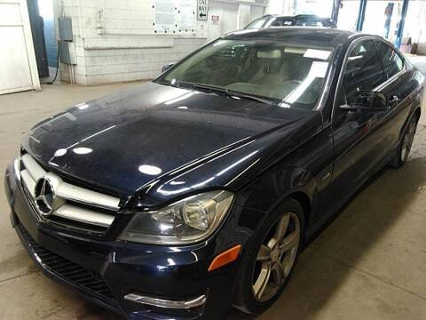 2012 Mercedes-Benz C-Class for sale at Cj king of car loans/JJ's Best Auto Sales in Troy MI
