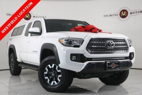 2017 Toyota Tacoma for sale at INDY'S UNLIMITED MOTORS - UNLIMITED MOTORS in Westfield IN