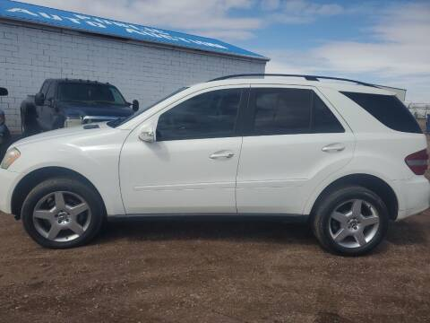 2006 Mercedes-Benz M-Class for sale at PYRAMID MOTORS - Fountain Lot in Fountain CO