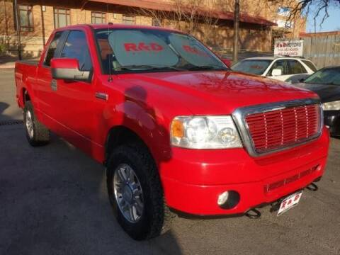 2008 Ford F-150 for sale at R & D Motors in Austin TX