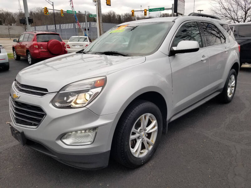 2016 Chevrolet Equinox for sale at Cedar Auto Group LLC in Akron OH