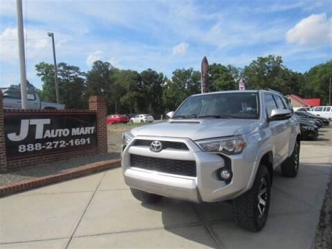 2017 Toyota 4Runner for sale at J T Auto Group in Sanford NC