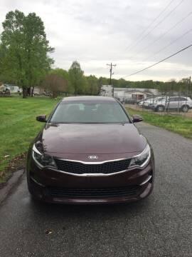2018 Kia Optima for sale at Speed Auto Mall in Greensboro NC