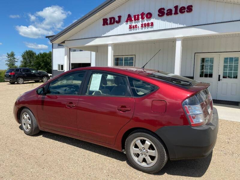 2004 Toyota Prius for sale at RDJ Auto Sales in Kerkhoven MN