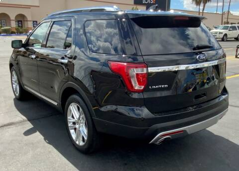 2016 Ford Explorer for sale at Charlie Cheap Car in Las Vegas NV