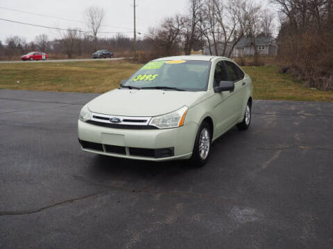 2010 Ford Focus for sale at Jamerson Auto Sales in Anderson IN