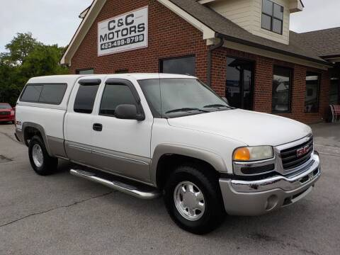 2003 GMC Sierra 1500 for sale at C & C MOTORS in Chattanooga TN