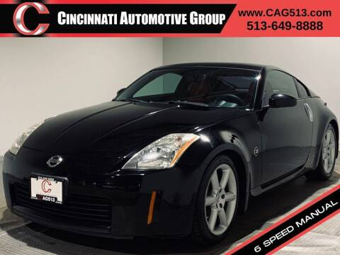 2003 Nissan 350Z for sale at Cincinnati Automotive Group in Lebanon OH
