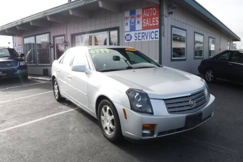2003 Cadillac CTS for sale at 777 Auto Sales and Service in Tacoma WA