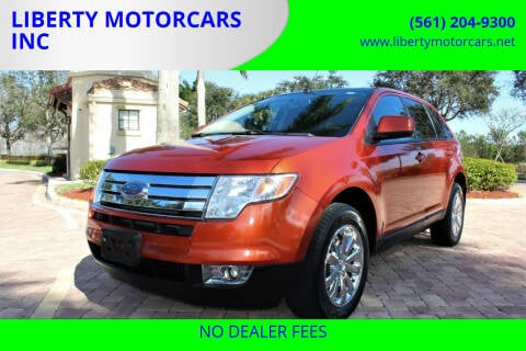 2008 Ford Edge for sale at LIBERTY MOTORCARS INC in Royal Palm Beach FL