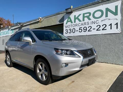2014 Lexus RX 350 for sale at Akron Motorcars Inc. in Akron OH
