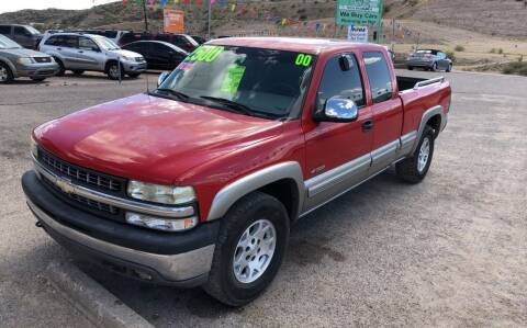 2000 Chevrolet Silverado 1500 for sale at Hilltop Motors in Globe AZ