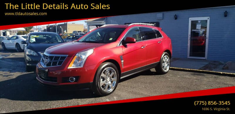 2010 Cadillac SRX for sale at The Little Details Auto Sales in Reno NV