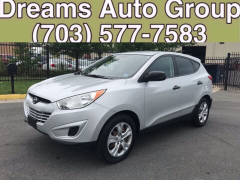 2010 Hyundai Tucson for sale at Dreams Auto Group LLC in Sterling VA
