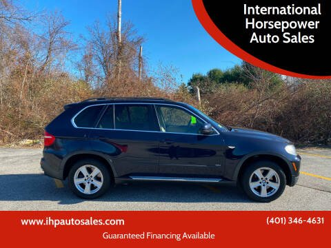 2008 BMW X5 for sale at International Horsepower Auto Sales in Warwick RI