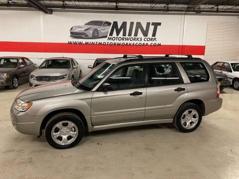 2007 Subaru Forester for sale at MINT MOTORWORKS in Addison IL