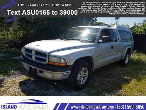 2002 Dodge Dakota for sale at Island Auto Sales in E.Patchogue NY