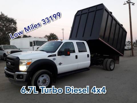 2011 Ford F-550 for sale at DOABA Motors in San Jose CA