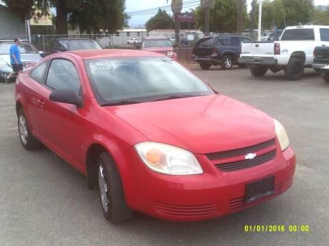 2007 Chevrolet Cobalt for sale at Mendocino Auto Auction in Ukiah CA