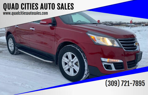 2014 Chevrolet Traverse for sale at QUAD CITIES AUTO SALES in Milan IL
