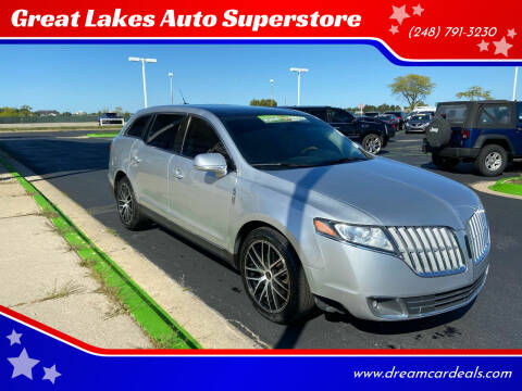 2010 Lincoln MKT for sale at Great Lakes Auto Superstore in Waterford Township MI