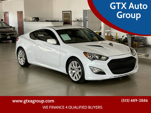 2013 Hyundai Genesis Coupe for sale at GTX Auto Group in West Chester OH