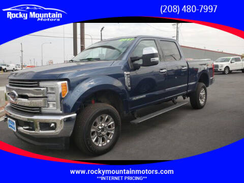 2017 Ford F-250 Super Duty for sale at Rocky Mountain Motors in Idaho Falls ID