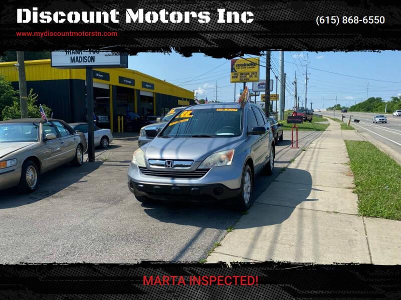 2008 Honda CR-V for sale at Discount Motors Inc in Madison TN