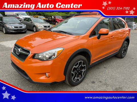 2014 Subaru XV Crosstrek for sale at Amazing Auto Center in Capitol Heights MD