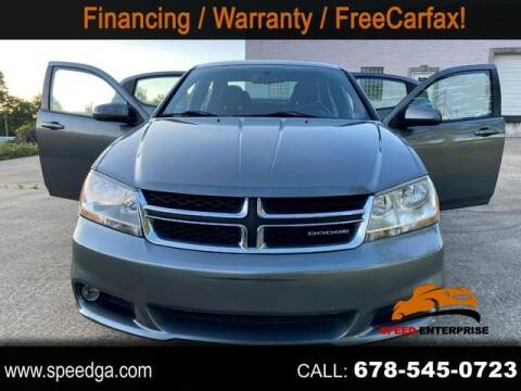 2012 Dodge Avenger for sale at JES Auto Sales LLC in Fairburn GA