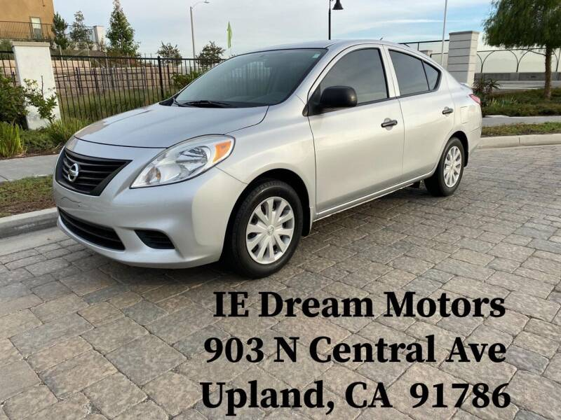 2014 Nissan Versa for sale at IE Dream Motors-Upland in Upland CA