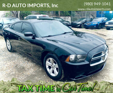 2014 Dodge Charger for sale at R-D AUTO IMPORTS, Inc in Charlotte NC