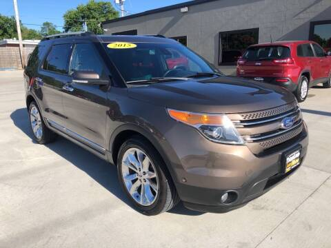 2015 Ford Explorer for sale at Tigerland Motors in Sedalia MO