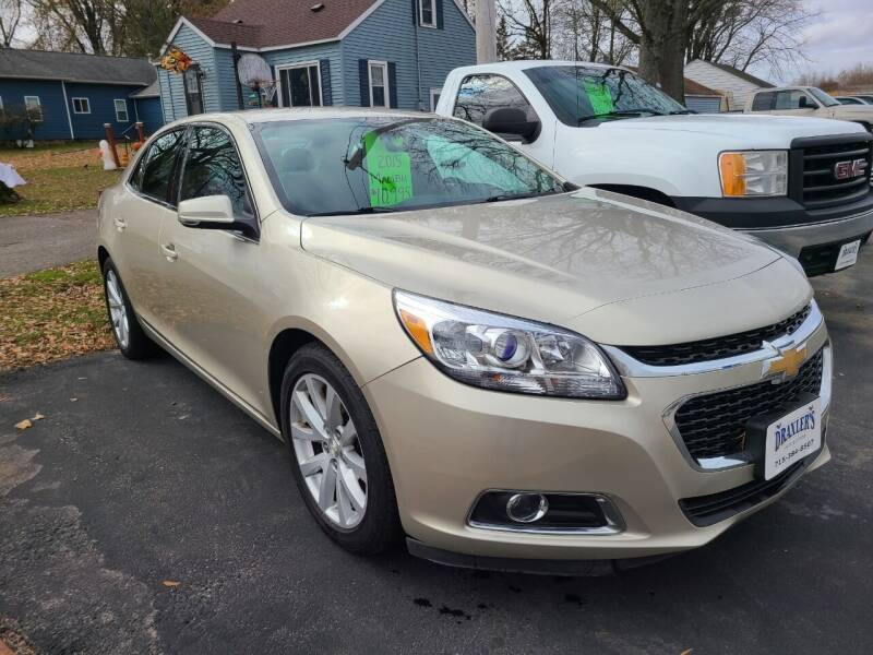 2015 Chevrolet Malibu for sale at Draxler's Service, Inc. in Hewitt WI