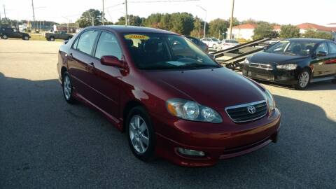 2008 Toyota Corolla for sale at Kelly & Kelly Supermarket of Cars in Fayetteville NC