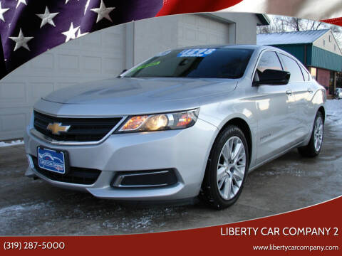 2016 Chevrolet Impala for sale at Liberty Car Company - II in Waterloo IA
