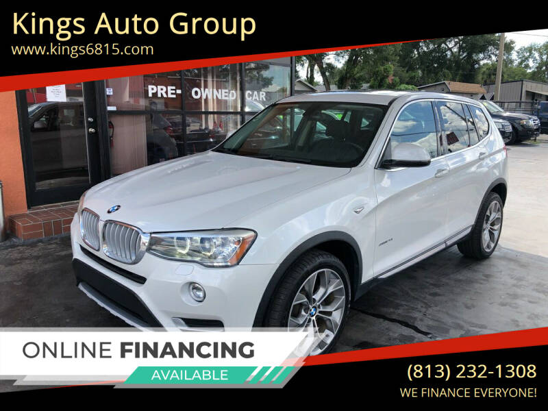 2015 BMW X3 for sale at Kings Auto Group in Tampa FL