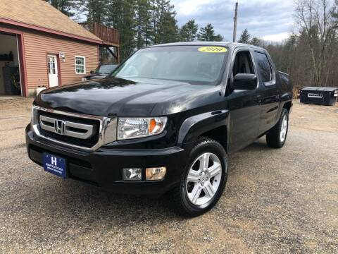 2010 Honda Ridgeline for sale at Hornes Auto Sales LLC in Epping NH