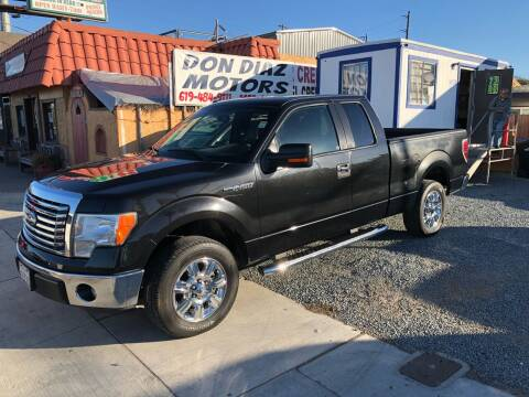 2012 Ford F-150 for sale at DON DIAZ MOTORS in San Diego CA