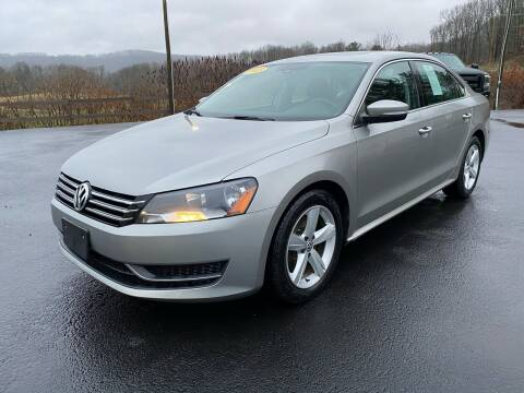 2013 Volkswagen Passat for sale at Pine Grove Auto Sales LLC in Russell PA