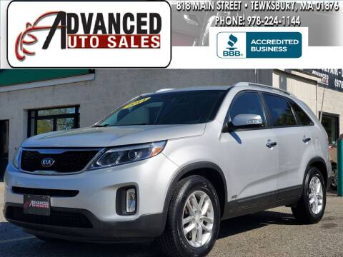 2014 Kia Sorento for sale at Advanced Auto Sales in Tewksbury MA