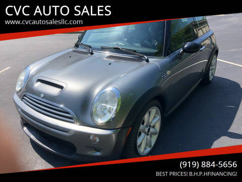 2004 MINI Cooper for sale at CVC AUTO SALES in Durham NC