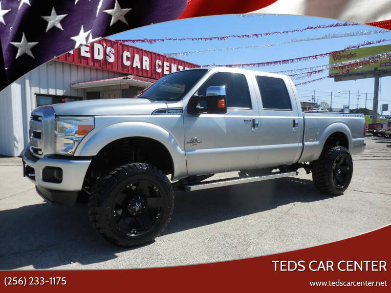 2015 Ford F-250 Super Duty for sale at TEDS CAR CENTER in Athens AL