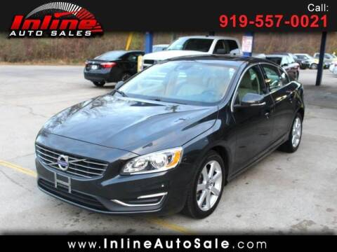 2016 Volvo S60 for sale at Inline Auto Sales in Fuquay Varina NC