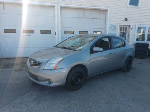 2010 Nissan Sentra for sale at E & K Automotive in Derry NH