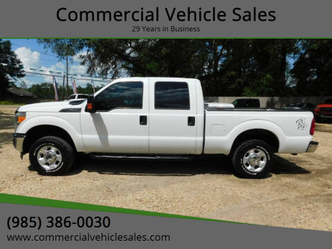 2012 Ford F-250 Super Duty for sale at Commercial Vehicle Sales in Ponchatoula LA