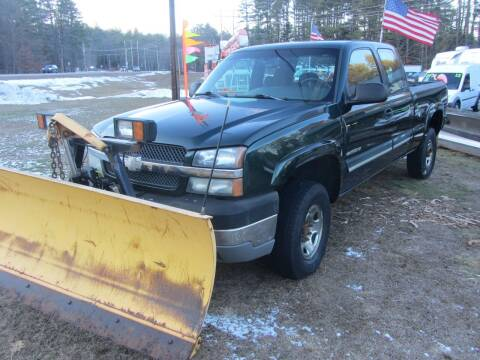 2003 Chevrolet Silverado 2500HD for sale at Jons Route 114 Auto Sales in New Boston NH