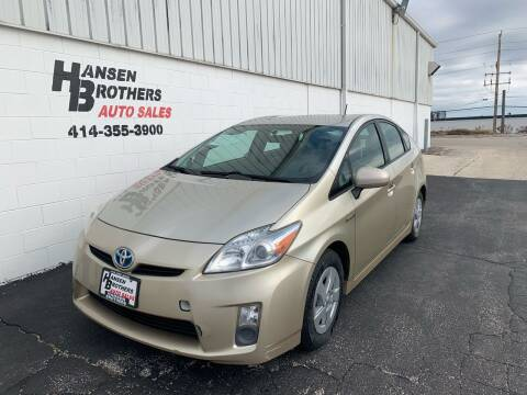 2010 Toyota Prius for sale at HANSEN BROTHERS AUTO SALES in Milwaukee WI