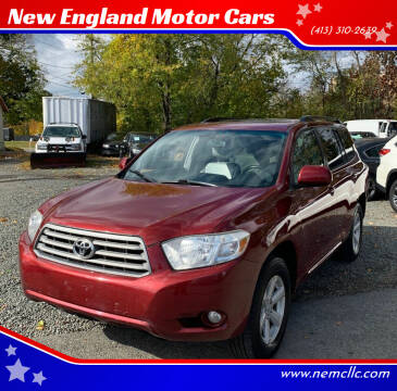 2010 Toyota Highlander for sale at New England Motor Cars in Springfield MA