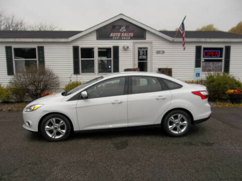 2014 Ford Focus for sale at R & L AUTO SALES in Mattawan MI